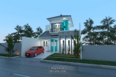 Rumah-Ibu-Oniq-l-2011-l-BanyumanikSemarang-l-LB-LT-1156-160-2